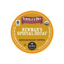 Newman's Special Decaf K-Cup Coffee