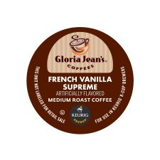 Gloria Jean's French Vanilla Supreme K-Cup Coffee