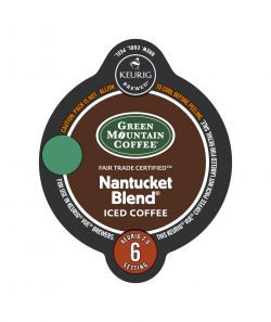 Green Mountain Nantucket Blend Iced Coffee Vue Cup