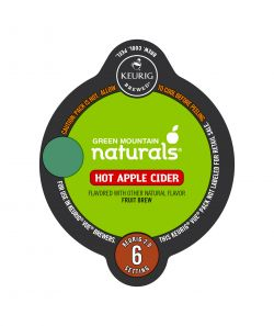 Green Mountain Naturals Hot Apple Cider Vue Cup
