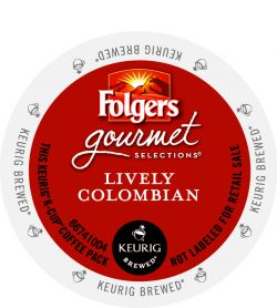 Folgers Lively Colombian K-Cup Coffee